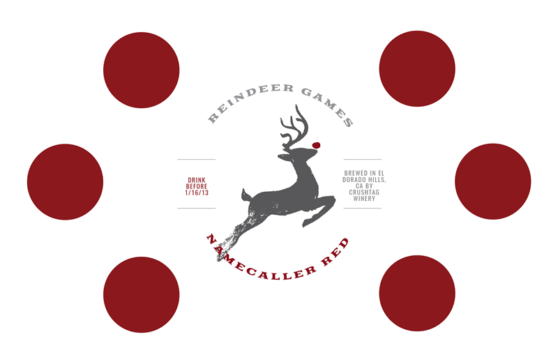 Picture of Reindeer Games Tasting Mat
