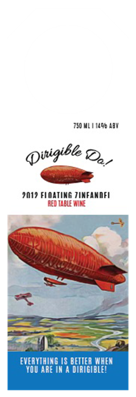 Picture of Dirigible Do! Hangtag