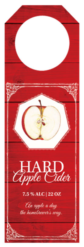 Picture of Hard Apple Cider Hangtag