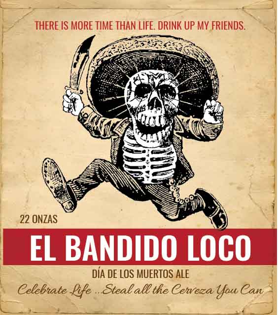 Picture of El Bandido Metal Sign