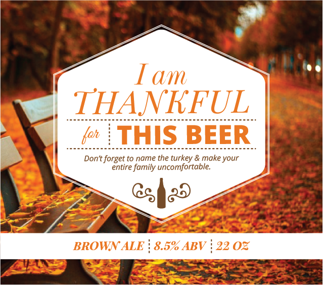 Picture of Thankful 4 Beer Square Set Landscape