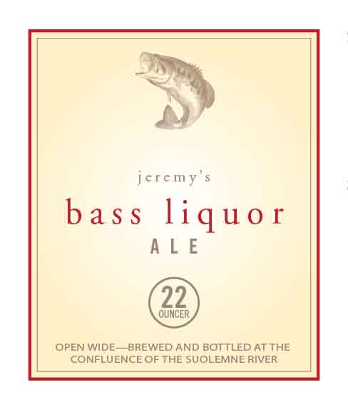 Picture of Bass Liquor Wine Label