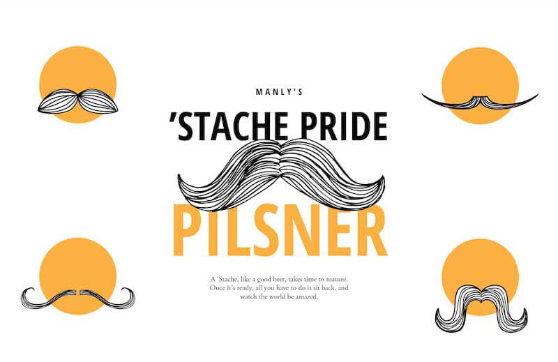 Picture of Stache Pride Tasting Mat