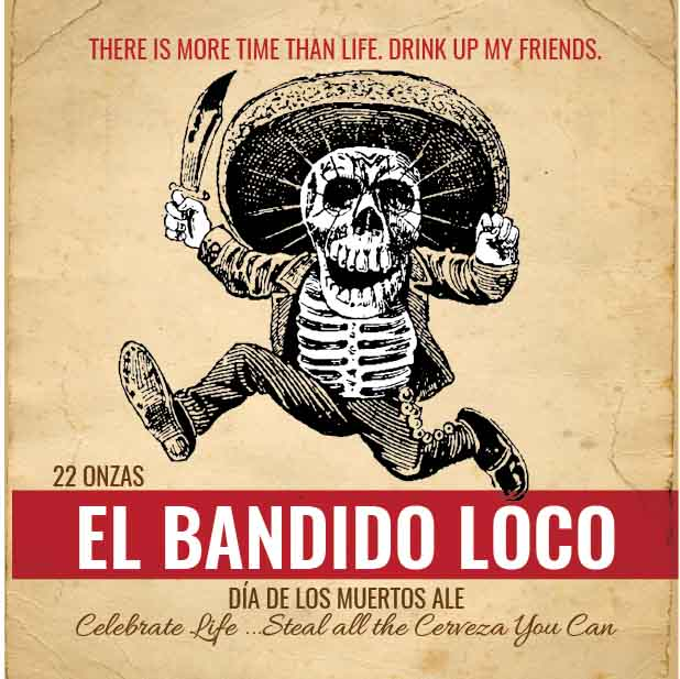 Picture of El Bandido Coaster, Single Sided