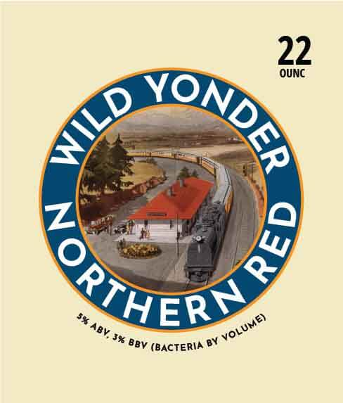 Picture of Wild Yonder Wine Label