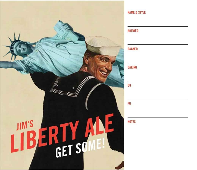 Picture of Liberty Keg Label