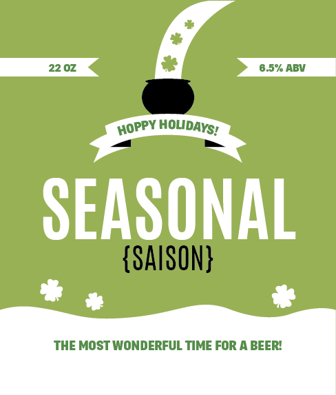 Picture of Seasonal Wine Label