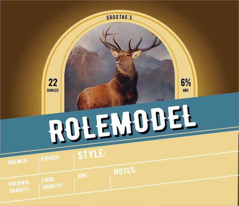 Picture of Rolemodel Keg Label