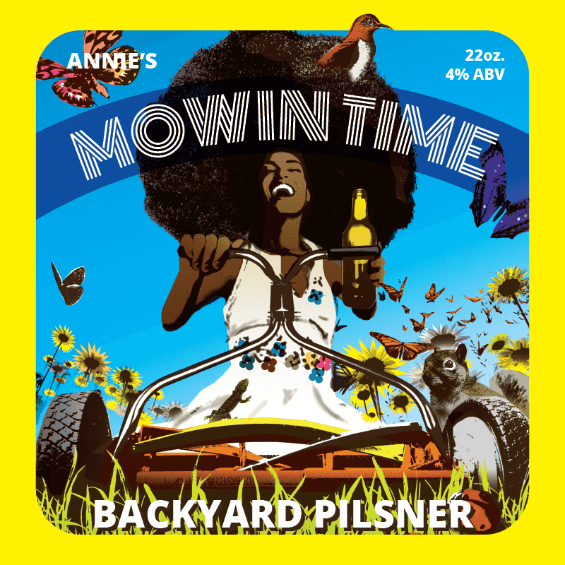Picture of Mowin Time Coaster, Single Sided