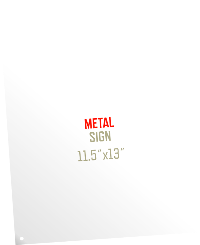 Picture for category Metal Sign