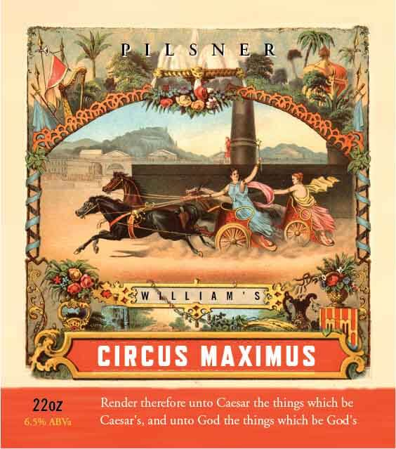 Picture of Circus Maximus Metal Sign