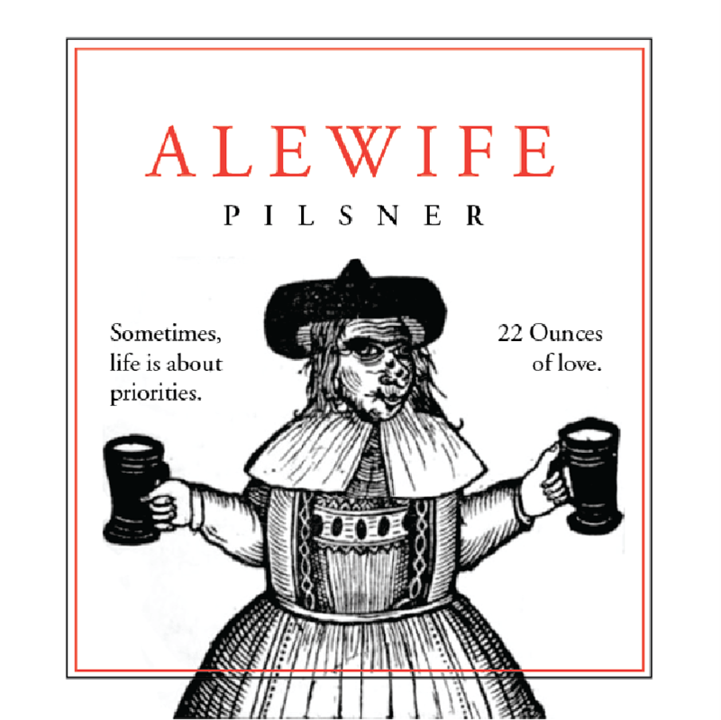 Picture of Alewife Coaster, Single Sided