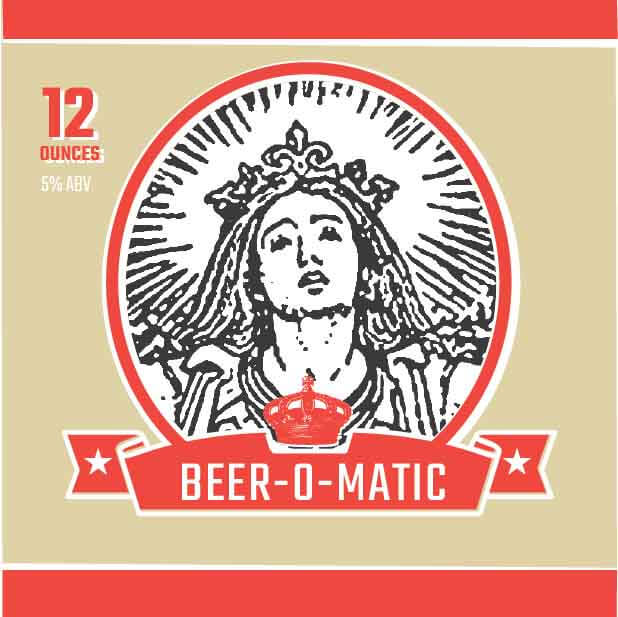 Picture of Beer-O-Matic Coaster, Single Sided