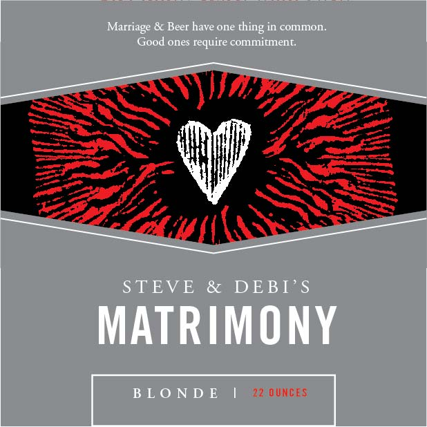 Picture of Matrimony Coaster, Single Sided