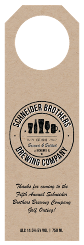 Picture of Schneider Bros Hangtag