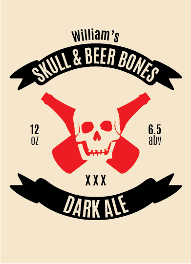 Picture of Skull & Beer Bones Volo