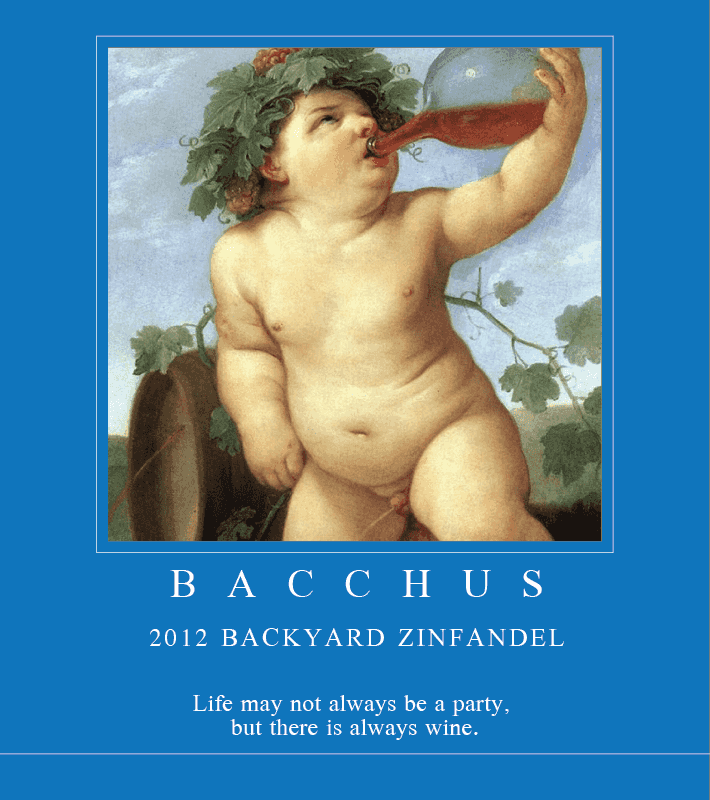 Picture of Bacchus Metal Sign