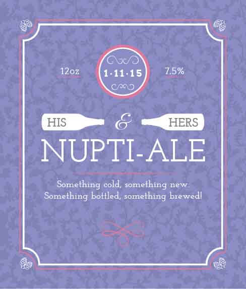 Picture of Nuptial-Ale Wine Label