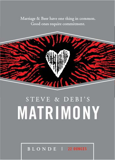 Picture of Matrimony Wine Label