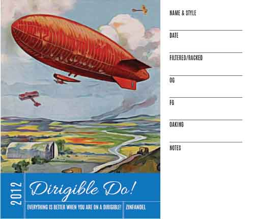 Picture of Dirigible Do! Keg Label