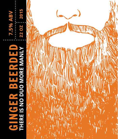 Picture of Ginger Beerded Wine Label