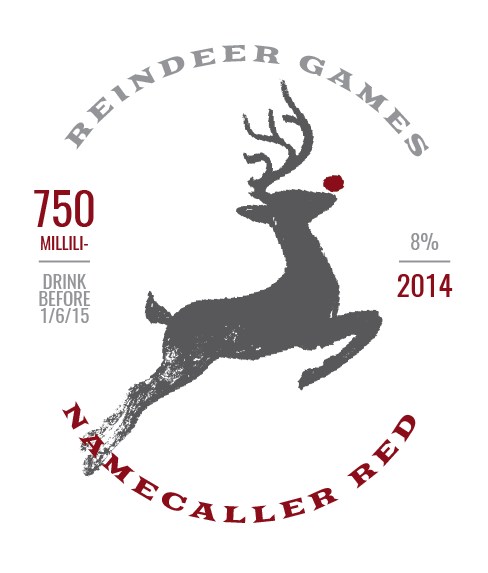 Picture of Reindeer Games Wine Label