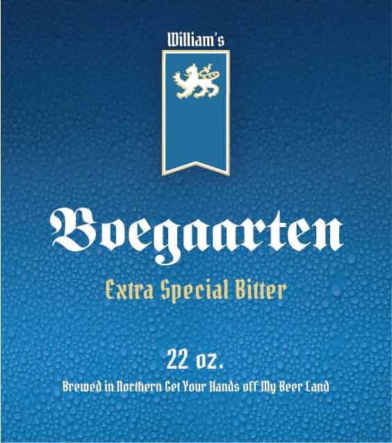 Picture of Boegaarten Metal Sign