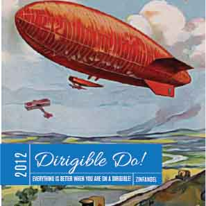 Picture of Dirigible Do! Coaster, Single Sided