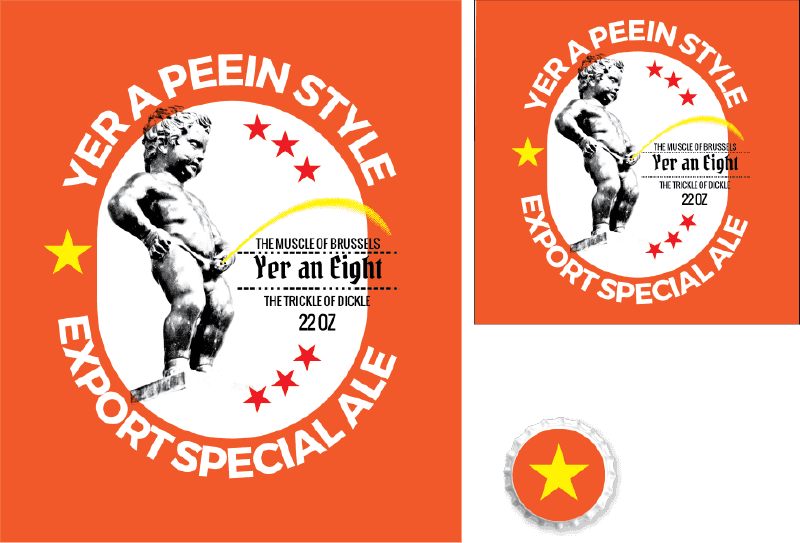 Picture for category Yer A Peein Design