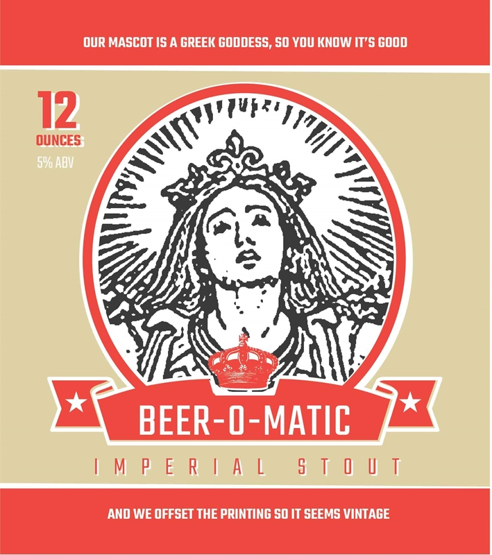 Picture of Beer-O-Matic Metal Sign
