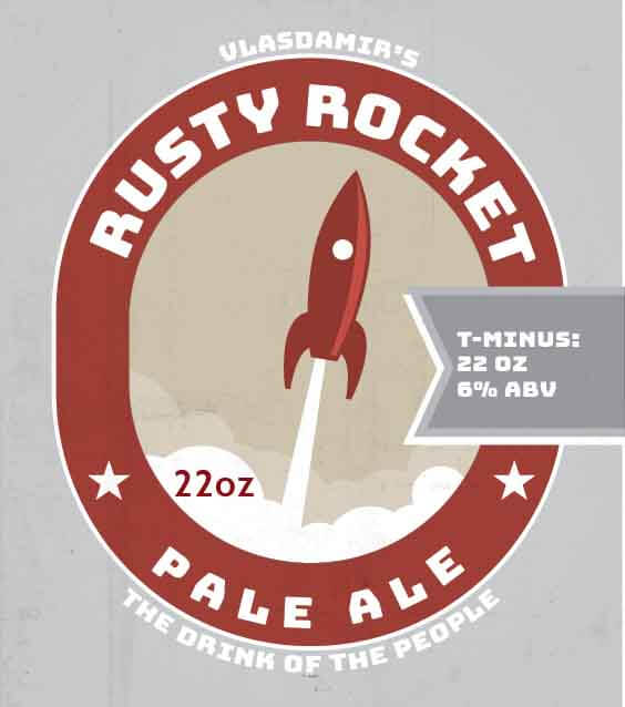 Picture of Rusty Rocket Square Set
