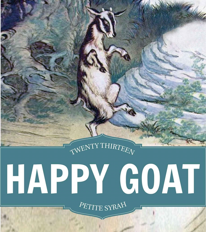 Picture of Happy Goat Metal Sign