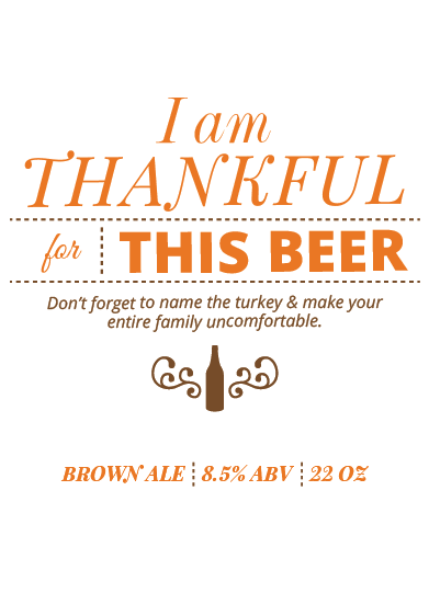 Picture of Thankful 4 Beer Basic