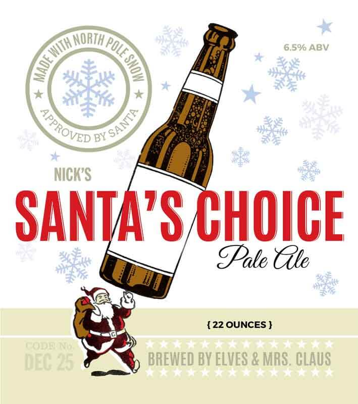 Picture of Santa's Choice Metal Sign