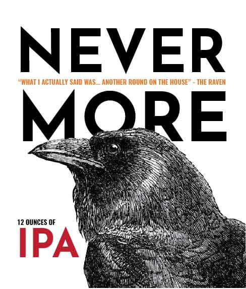 Picture of Nevermore Wine Label