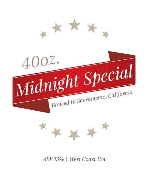 Picture of Midnight Special Wine Label