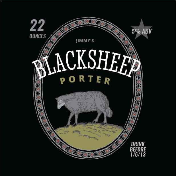 Picture of Blacksheep Coaster, Single Sided