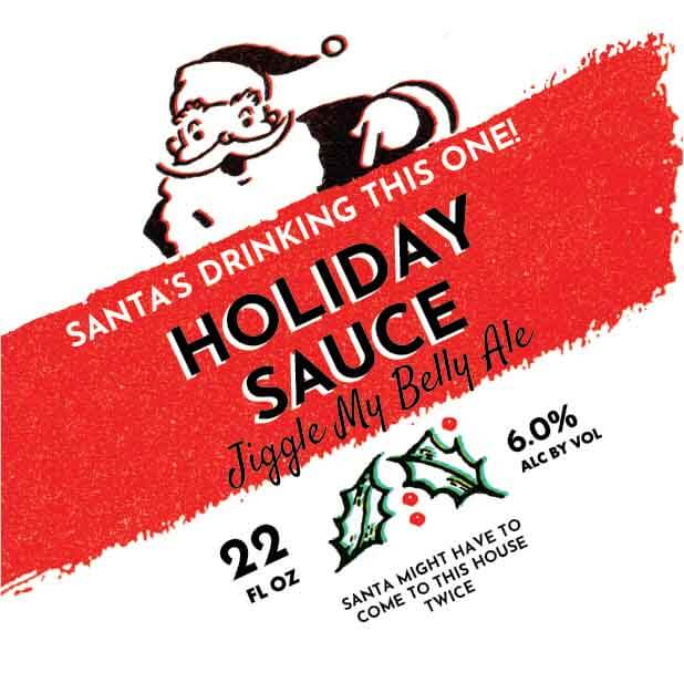 Picture of Holiday Sauce Coaster, Single Sided