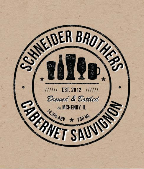Picture of Schneider Bros Wine Label