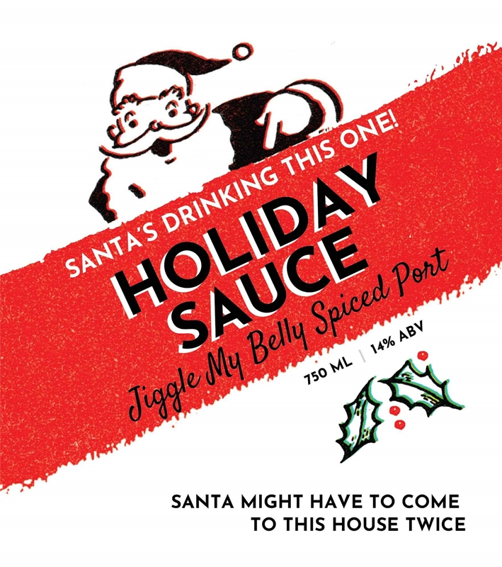 Picture of Holiday Sauce Metal Sign
