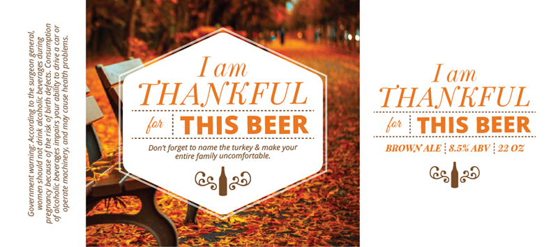 Picture of Thankful 4 Beer Fullwrap