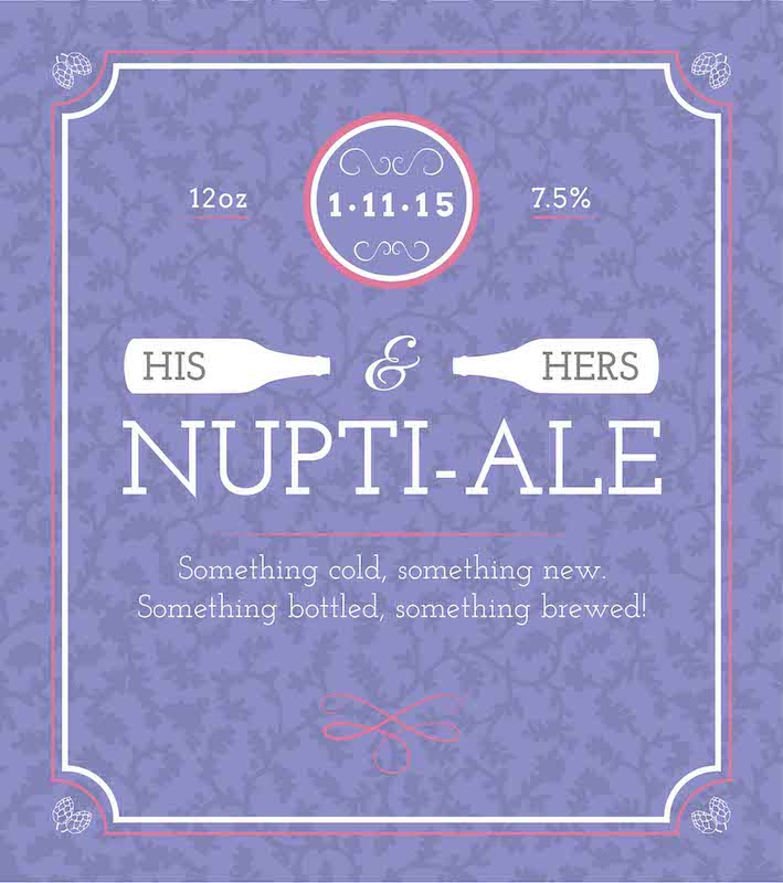 Picture of Nuptial-Ale Metal Sign