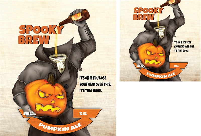 Picture for category Spooky Brew Design - Halloween & Fall Designs