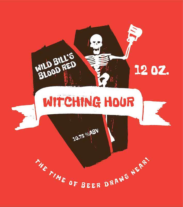 Picture of Witching Hour Metal Sign