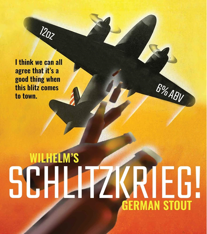 Picture of Schlitzkrieg Metal Sign