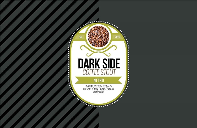 Picture of Dark Side Tasting Mat