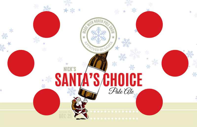 Picture of Santa's Choice Tasting Mat