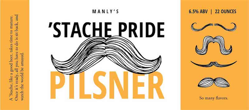 Picture of Stache Pride Fullwrap