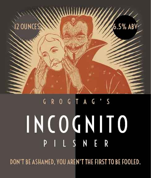 Picture of Incognito Wine Label