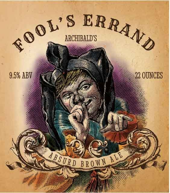 Picture of Fool's Errand Metal Sign